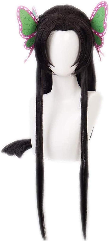 SUCICI Anime Cosplay Wigs Demon Slayer Wig Kanae Kochou Be super welcome Soldering