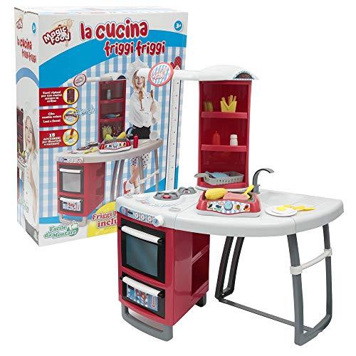 Giochi Preziosi Food Fry Magic Kitchen 287, Multicolore, 8056379041481