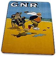 マウスパッド ゲーミングマウスパッド-グレートノーザン鉄道滑り止め デスクマット 水洗い 25x30cm