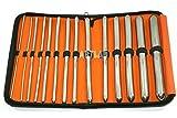 Cynamed 14 Ea Hegar Dilator Sounds Set 7.5 Inches Instrument Double Ended Hegar Dilator Set Premium German