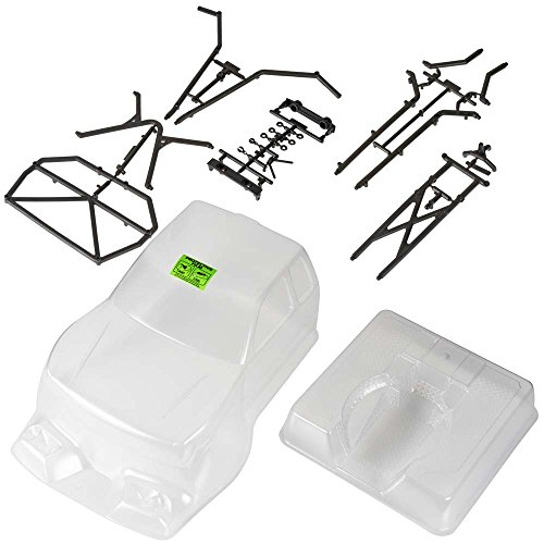 Axial AX4025 Trail Honcho Body with Rear Cage, Clear: AXIC4025