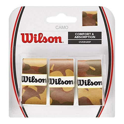 Wilson Camo OVERGRIP, Tennis Racket Grip Unisex-Adult, Brown, One Size