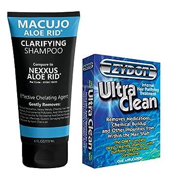 Aloe Rid Old Formula Shampoo  Compared To Nexxus Aloe Rid  With Zydot Ultra Clean