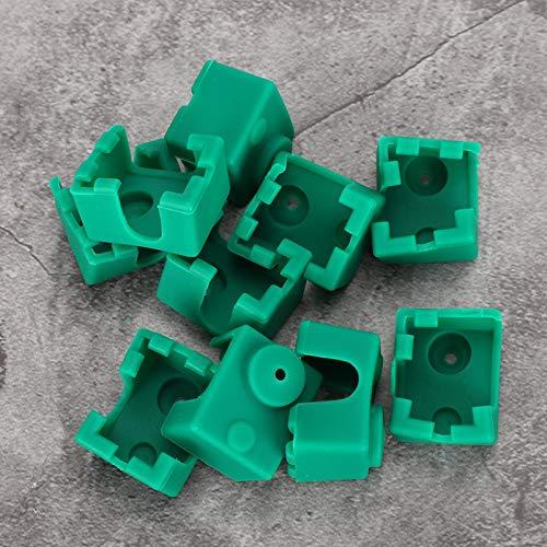 Custodia in silicone resistente alle alte temperature Protezione ambientale 10Pcs Custodia in silicone senza inquinamento per stampante 3D per calzino riscaldante