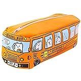 Estuche para Lápices de Autobús Escolar, Papelería Pequeño Bus, Estudiantes Autobús para...