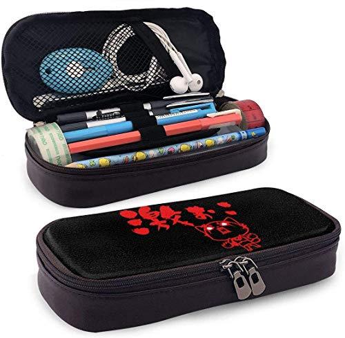 Federmäppchen Große Kapazität Großer Aufbewahrungsstift Bleistiftbeutel Box Organizer Praktischer Taschenhalter mit Reißverschluss - Aggretsuko Entfesseln Sie die Wut