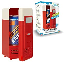 Retro USB Minikühlschrank für eine Dose
