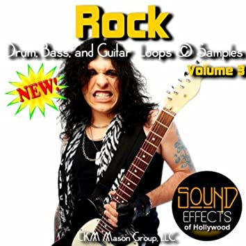 Rock Drum, Bass, And Guitar Loops And Samples - Volume 3