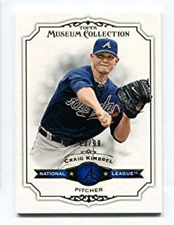 Craig Kimbrel - 2012 Topps Museum Collection #29 Blue Pararell #/99