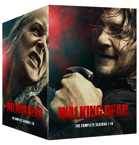 The Walking Dead The Complete Seasons 1-10 Boxset [DVD] [2021]