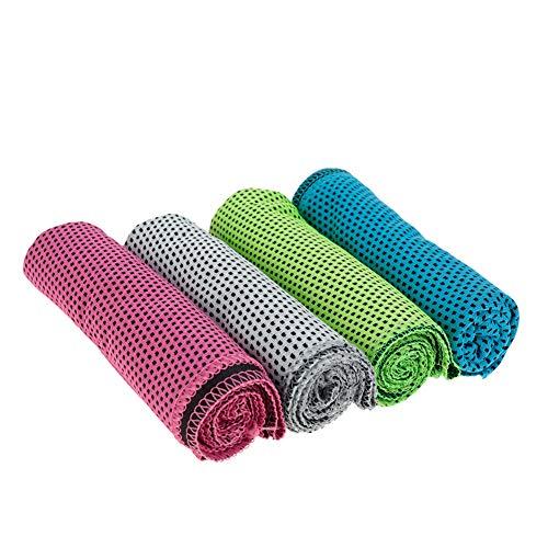 Thursday April 4 Piezas Toalla Microfibra de Deportes Toalla de Hielo Fra Bufanda de Cuello de Pauelo de Secado Rpido para Yoga Golf Viajes Gimnasio y Deportes al Aire Libre(Multicolor)