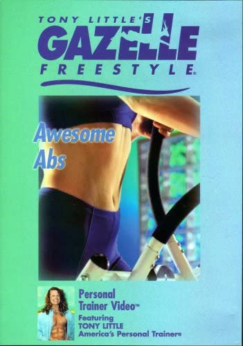 Tony Little's Gazelle Freestyle Awesome Abs Workout (DVD)