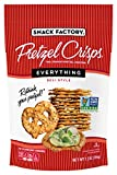 Snack Factory Pretzel Crisps, Everything, 7.2 Oz Bag...