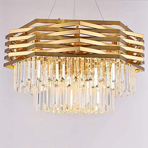 HDZWW Flush Mount Deckenlampe, Kristall Nähe Deckenleuchte, 1-Light Round Chrome Hängeleuchten Leuchten for Heim Entryway Küche