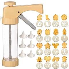 Bugucat Gebäckpresse,Plätzchenpresse Gebäckspritze Kekshersteller Keksmaschine