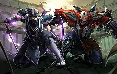 Póster de League Of Legends Battle Fantasy Arena (30,5 x 45,7 cm), multicolor