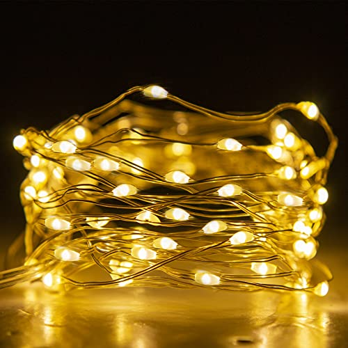 Eambrite LED Fairy Lights Battery Operated with 8 Modes 50 LEDs String...