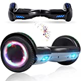 Wind Way Hover Board 6,5 Pouces - Bluetooth - Puissance 700W - Overboard LED - Skateboard Auto...