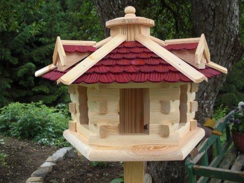 Vogelhaus Vogelhäuser (V32) Vogelfutterhaus Vogelhäuschen-aus Holz- Schreinerarbeit-