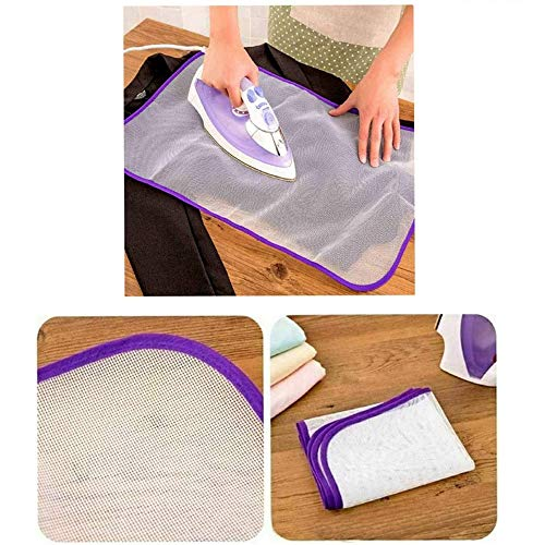 PLASTIFIC 2 x Ironing Mesh Protective Net Cloth Protect Iron Delicate...