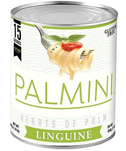Palmini Pasta, 15 Calories, 3g of Carbs (800g, 1.76lb Net WT.) (Linguine)