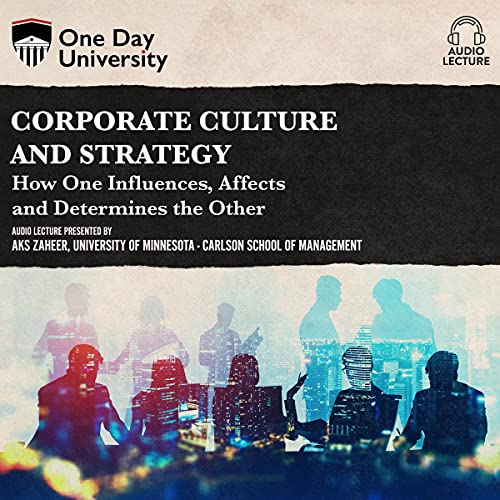 『Corporate Culture and Strategy』のカバーアート