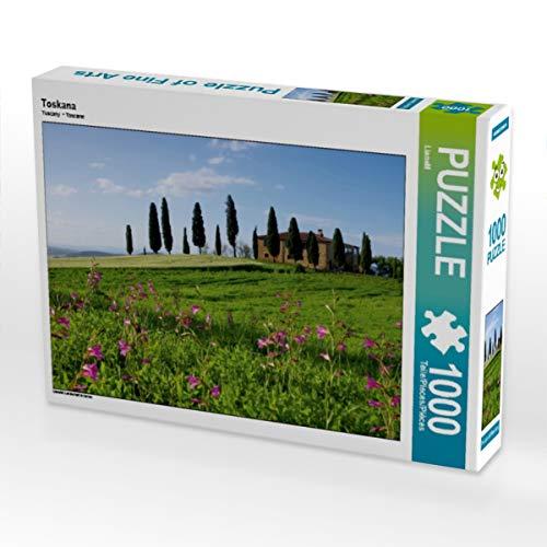 CALVENDO Puzzle Toskana 1000 Teile Lege-Größe 64 x 48 cm Foto-Puzzle Bild von Thomas Polske