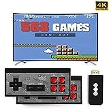 Retro Mini HDMI 4K TV Game Stick Konsolen Controller, 568/600 Eingebaute Klassische Spiele, Handheld...
