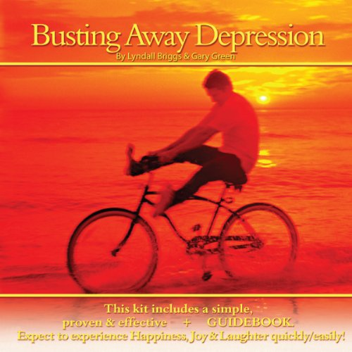Busting Away Depression audiobook cover art