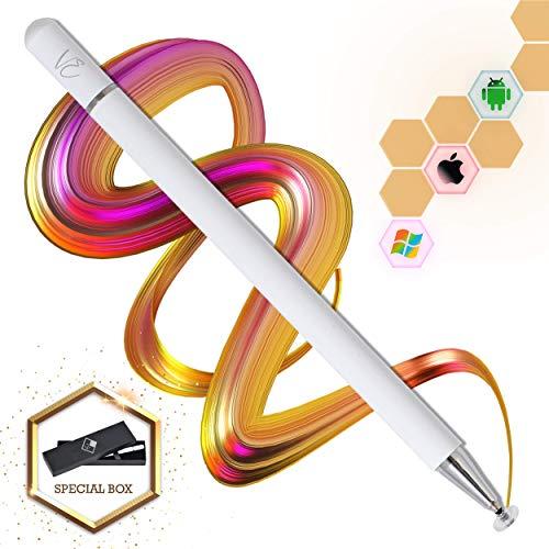 VEcome Stylus Pen-Touchscreen Stift -Tablet Stift-Eingabestift Pencil mit feiner Spitze -Tablet stifte ohne aufladen-Stift für Tablet und Handy-Stift für iPad und Android