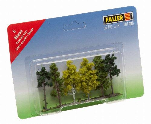 181488 - Faller - Bäume sortiert 6 cm (6 Stc.)