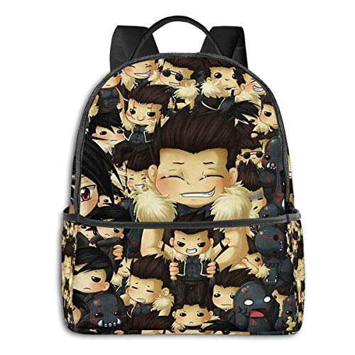 Hdadwy Greed Overload Backpack Unisex School Daily Backpack Lightweight Casual Travel Outdoor Camping Daypack
