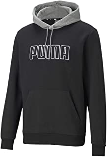 PUMA Block Emb Hoodie FL Sudadera Hombre