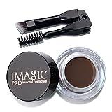 BBsmile Mejoradores de cejas Impermeables Crema de Gel para las Cejas de Larga Duración Maquillaje + Cepillo (E)