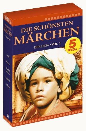 Die schönsten Märchen der DEFA, Vol. 2 (Frau Holle / Schneewittchen / Die Geschichte vom kleinen Muck / Die goldene Gans / Das Feuerzeug) [5 DVDs]