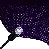 Star Projector Night Light, Romantic Auto Roof Lights, Aevdor Adjustable USB Night Light for Bedroom, Car, Party, Ceiling and More - Plug and Play (Blue)