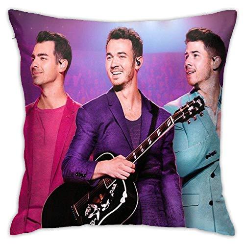 Yaxinduobao Jonas Happiness Continues Brother Tour 2020 Ngselasa Pillowcases, Floor Pillowcases, Pillowcases, Sofa Cushions, Cushion Covers, Backrest Covers, Car Cushion Interiors