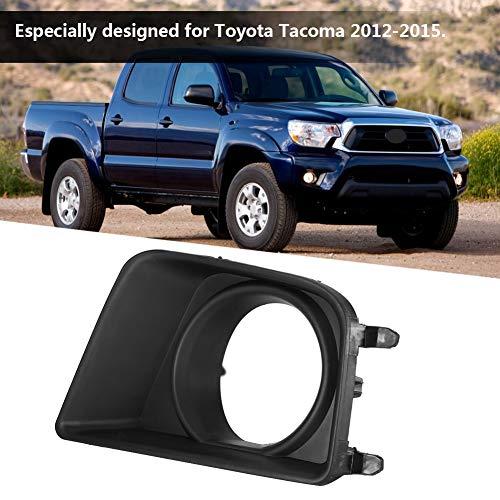 Esenlong Nebelscheinwerferabdeckung für Toyota Tacoma 2012–2015, Schwarz