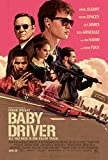 Baby Driver 2017 Movie Poster, Movie das Plakat in Sizes