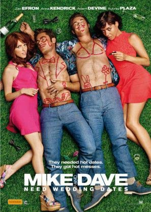 Mike and Dave Need Wedding Dates - Zac Efron - Australian Imported Movie Wall Poster Print - 30CM X 43CM