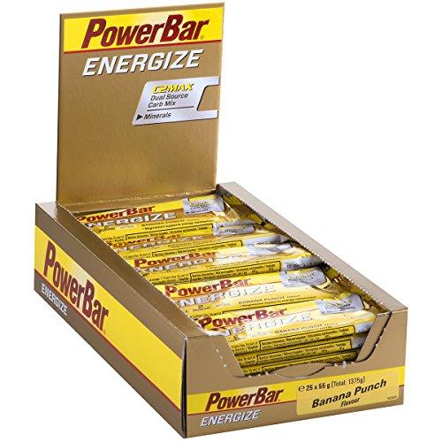 Powerbar Energize Banana Punch Riegel, 25er Pack (25 x 55 g)