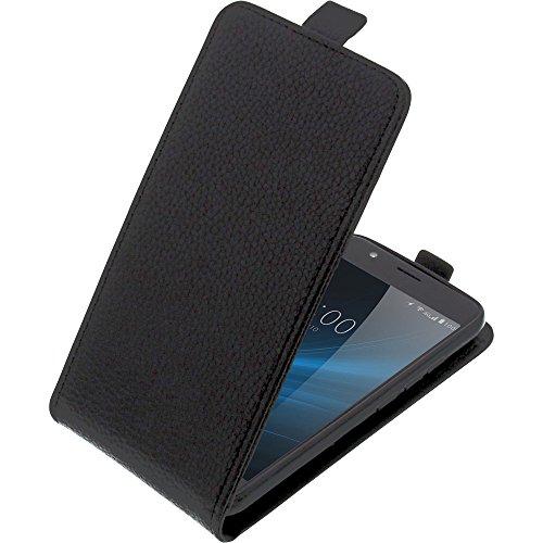 foto-kontor Tasche für UMIDIGI C2 Smartphone Flipstyle Schutz Hülle schwarz