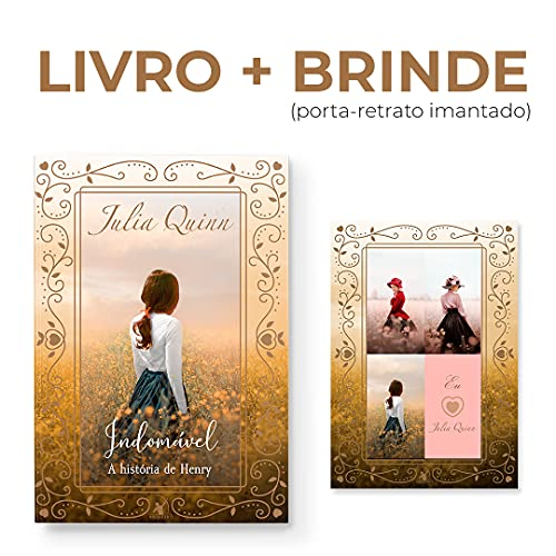 Indomável – Trilogia Damas Rebeldes – Livro 3 + Porta-retrato Imantado