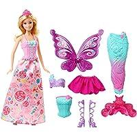 Barbie Muñeca Dreamtopia Fiesta de Disfraces, multicolor, única (Mattel DHC39)