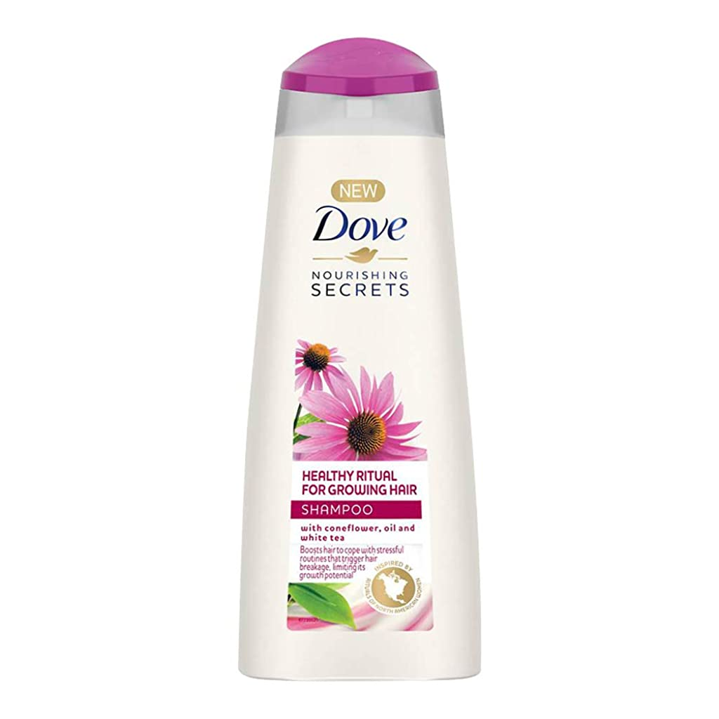 スタジアムアトミック結果としてDove Healthy Ritual for Growing Hair Shampoo, 340 ml (Coneflower, Oil and White Tea)