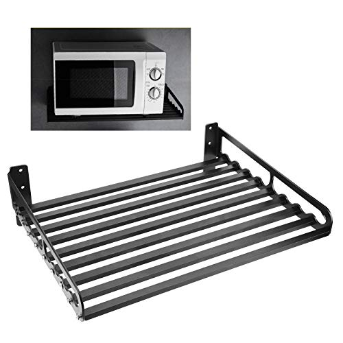 Soporte de estante de lujo para estante de almacenamiento montado en la pared para el hogar(50 * 40)
