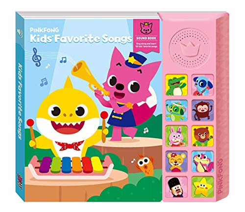 Pinkfong Kids' Favorite Songs Sound Book