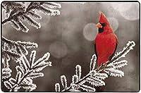 幸せな感謝祭の七面鳥の紅葉エリアリビングダイニングルーム用ラグラグベッドルームキッチン、4'x6'保育園ラグフロアカーペットヨガマット