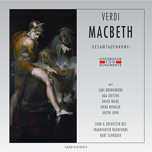 Macbeth: Erster Akt - Daß zur Zeit ich ihn wecke