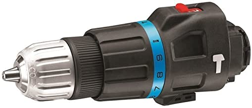 Black+Decker MTHD5-XJ Cabezal de taladro percutor Multievo con dos brocas